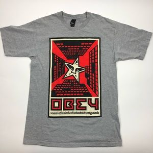 Obey seven feet four inches five hundred 20 lb tee